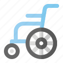 chair, health, healthcare, hospital, medical, wheel icon