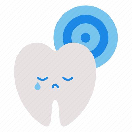 dental, healthcare, hospital, medical, teeth, toothache, trouble icon
