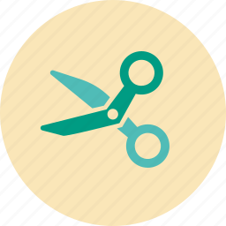 cut, hair dresser, hairdresser, medical, scissors, tailor icon