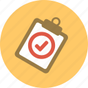 check mark, checkmark, clip board, good, medical, medical repot, report icon