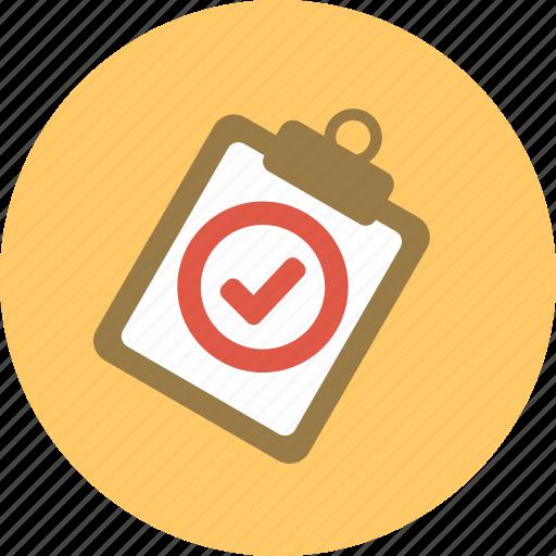 check mark, checkmark, clip board, good, medical, medical repot, report icon