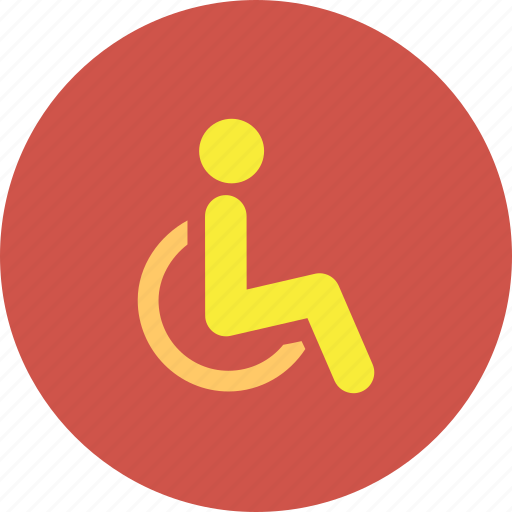 disabled, emergency, handicap, injury, medical, parking, wheelchair icon