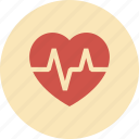 ecg, health, healthcare, heart, medical, pulse icon