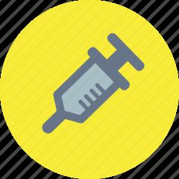 drug, health care, injection, medicine, syringe icon