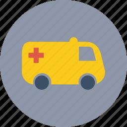 ambulance, health care icon