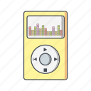 ipod, music, player icon