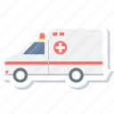 ambulance, bus, doctor, healthcare, medical, van, vehicle icon