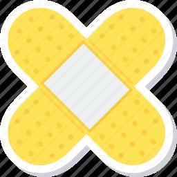 aid, bandage, care, healthcare, medical, plaster icon