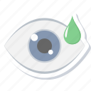 drop, drops, eye, medical, treatment, vision icon