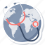 global, global health, health, healthcare, medical, medicine, world icon