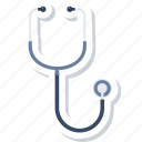 aid, healthcare, medical, stethoscope icon
