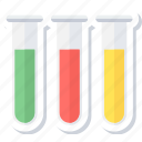experiment, lab, laboratory, medical, test tubes, tube icon