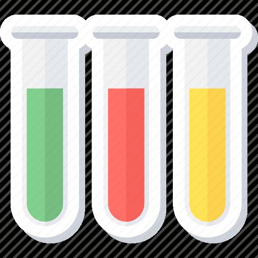 experiment, lab, laboratory, medical, test tubes, tube icon