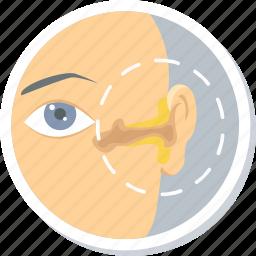 ear, ear disease, infection, problen, treatment icon