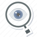 care, eye, eyetest icon