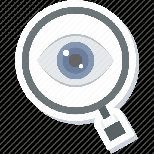 care, eye, eyetest icon