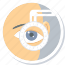 checkup, eye, eyetest, laser, operation, surgery, vision icon