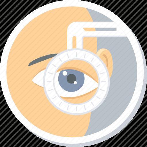 checkup, eye, eyetest, laser, operation, surgery, vision icon