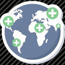 healthcare, hospital, hospital location, location, medical, medical location, pharmacy location icon