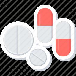 capsule, capsules, healthcare, medicine icon