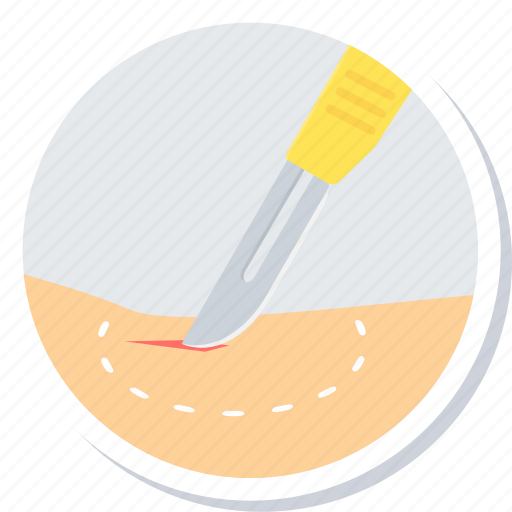 blade, cosmetic, cut, surgery, treatment icon