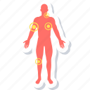 checker, medical, symptom icon