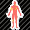 checker, medical, symptom icon