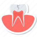 cavity, dental, dentistry, stomatology, teeth, tooth icon