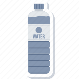 bottle, water, water bottle icon