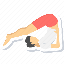 exercise, fitness, gym, health, yoga icon