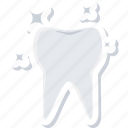 dental, dentistry, hygiene, shining, stomatology, tooth icon