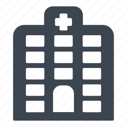 buildings, health care, health clinic, hospital, medical assistance icon
