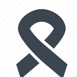 aids, cancer, medical, ribbon icon