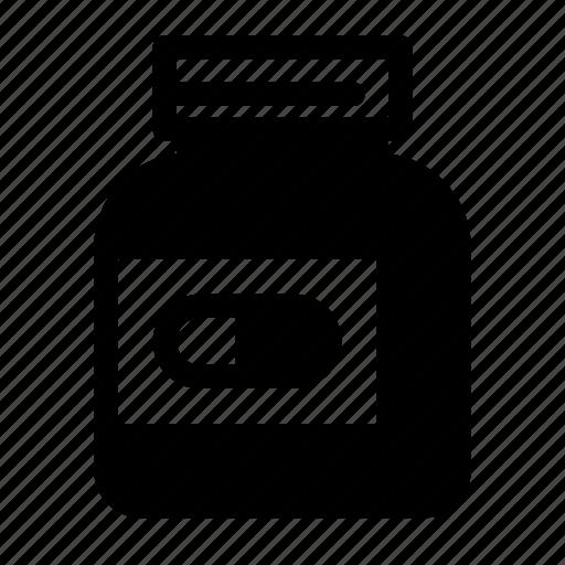 bottle, drugs, healthy, medical, medicine, pharmacy, pills icon