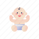 baby, boy, child, childhood, infant, newborn, young icon