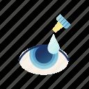 care, eye, eye dropper, lens, optical, vision