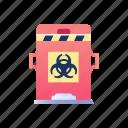 biological, contaminated, hazard, hazardous, toxic, virus, waste