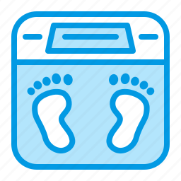 haelth, pregnancy, scale, weight icon