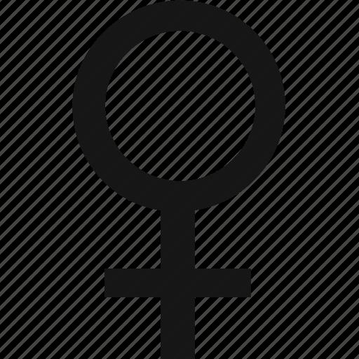 female, medical, sign, symbol icon