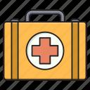 aids, bag, emergency, kit, medical
