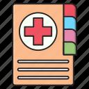 medical, notes, diary, hospital, records icon
