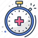 checkup, insurance, time icon