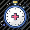 checkup, insurance, time icon