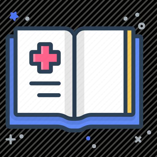 book, health, history, record icon