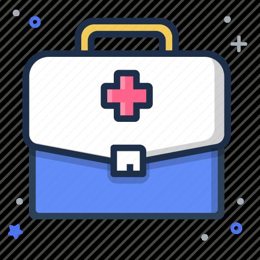 bag, doctor, healthy, medical icon