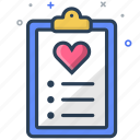 checklist, medical, prescription icon