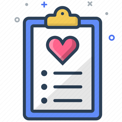 checklist, medical, prescription icon