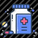 drugs, medical, medicine, prescription icon