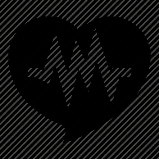 care, hearth, load, medicine, pulse, system icon