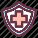 farmasutical, healtcare, medical, medicine, policy, protection, store icon